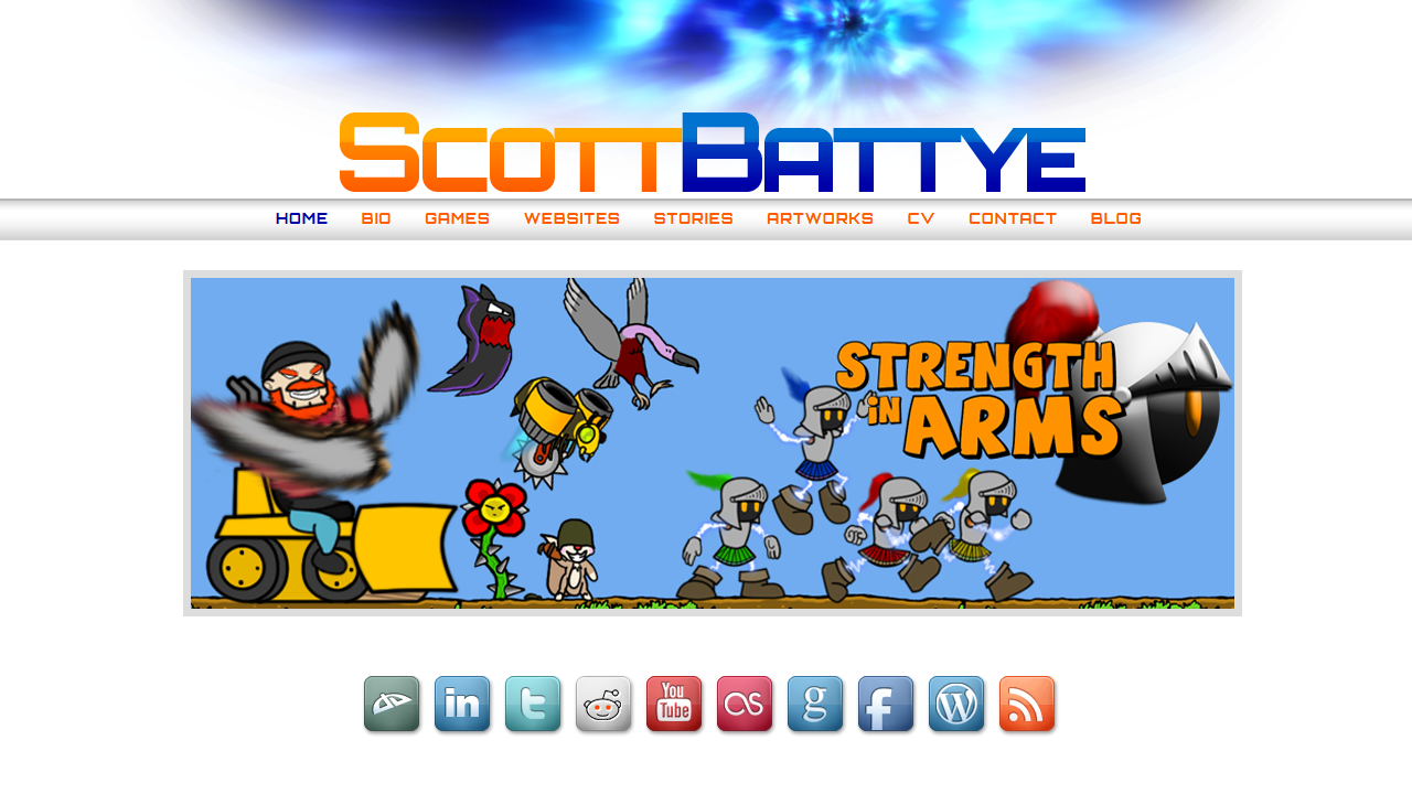 Personal Website Circa 2013